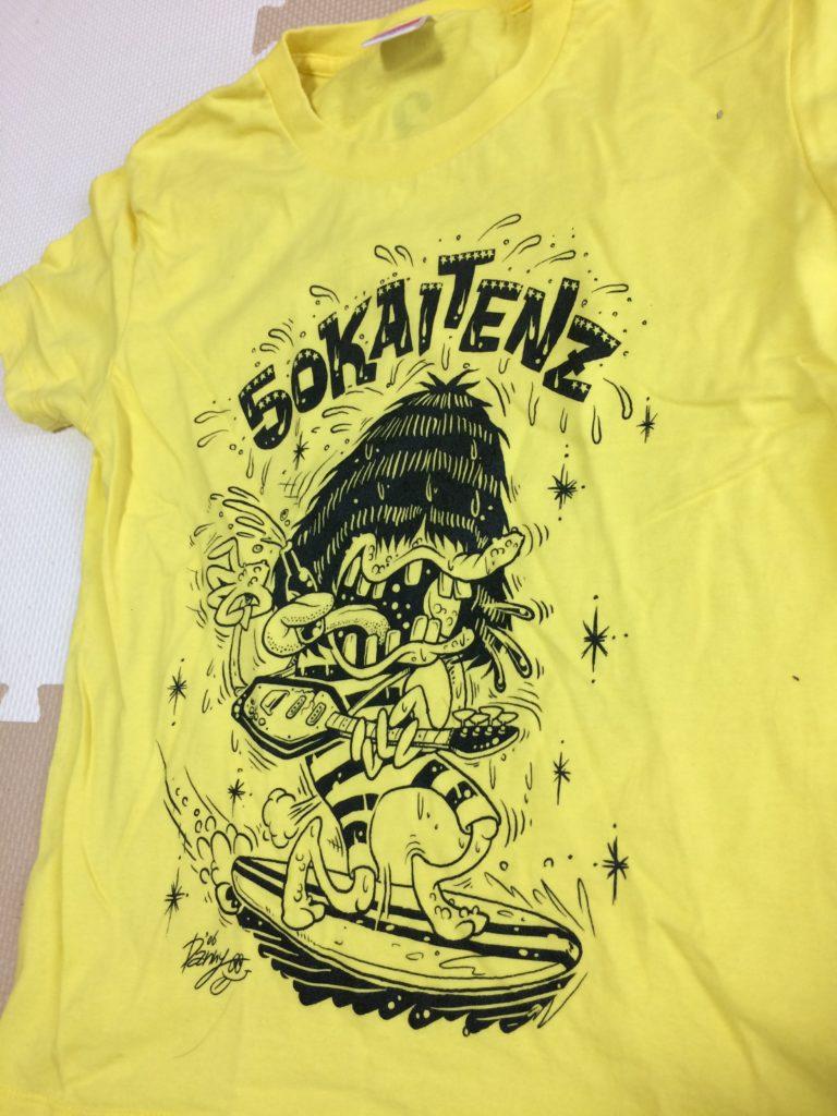 50回転ズTシャツ(表)
