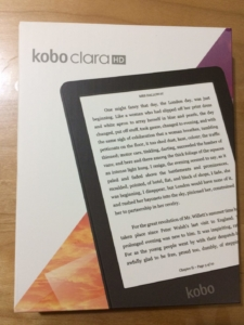 Kobo Clara HDのパッケージ