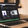 SpotifyのPC画面