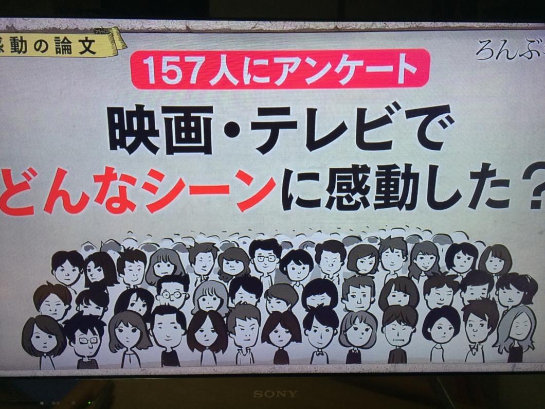 【ろんぶ〜ん】アンケート1