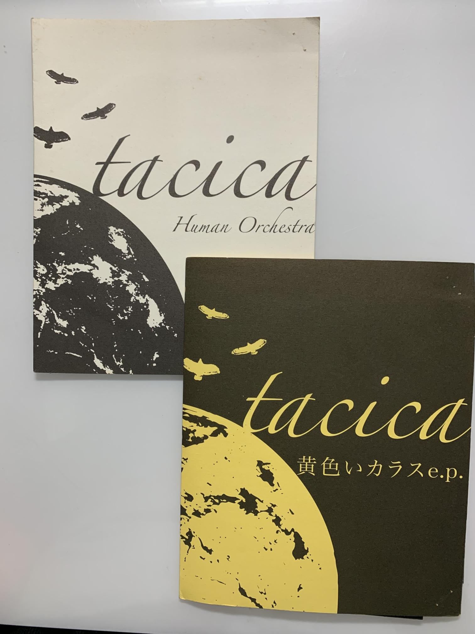 tacica紙ジャケ