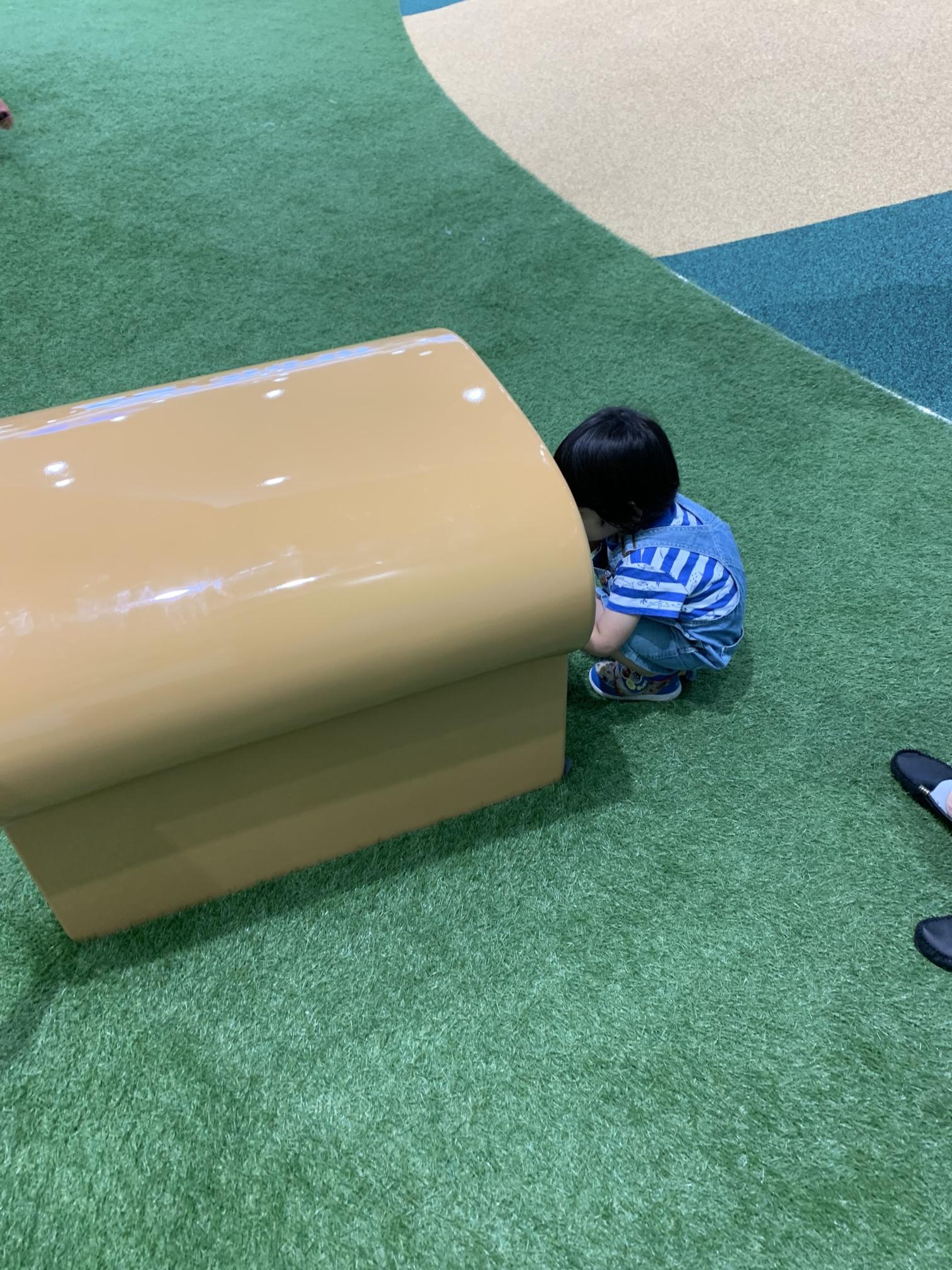 横浜アンパンマンミュージアム【パンに入る1】