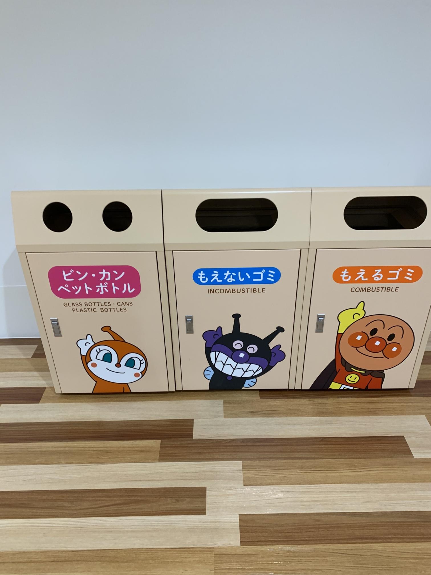横浜アンパンマンミュージアム【ゴミ箱】