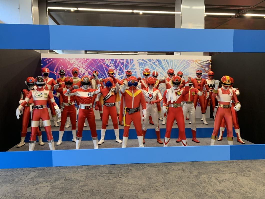 歴代のスーパーヒーロー戦隊