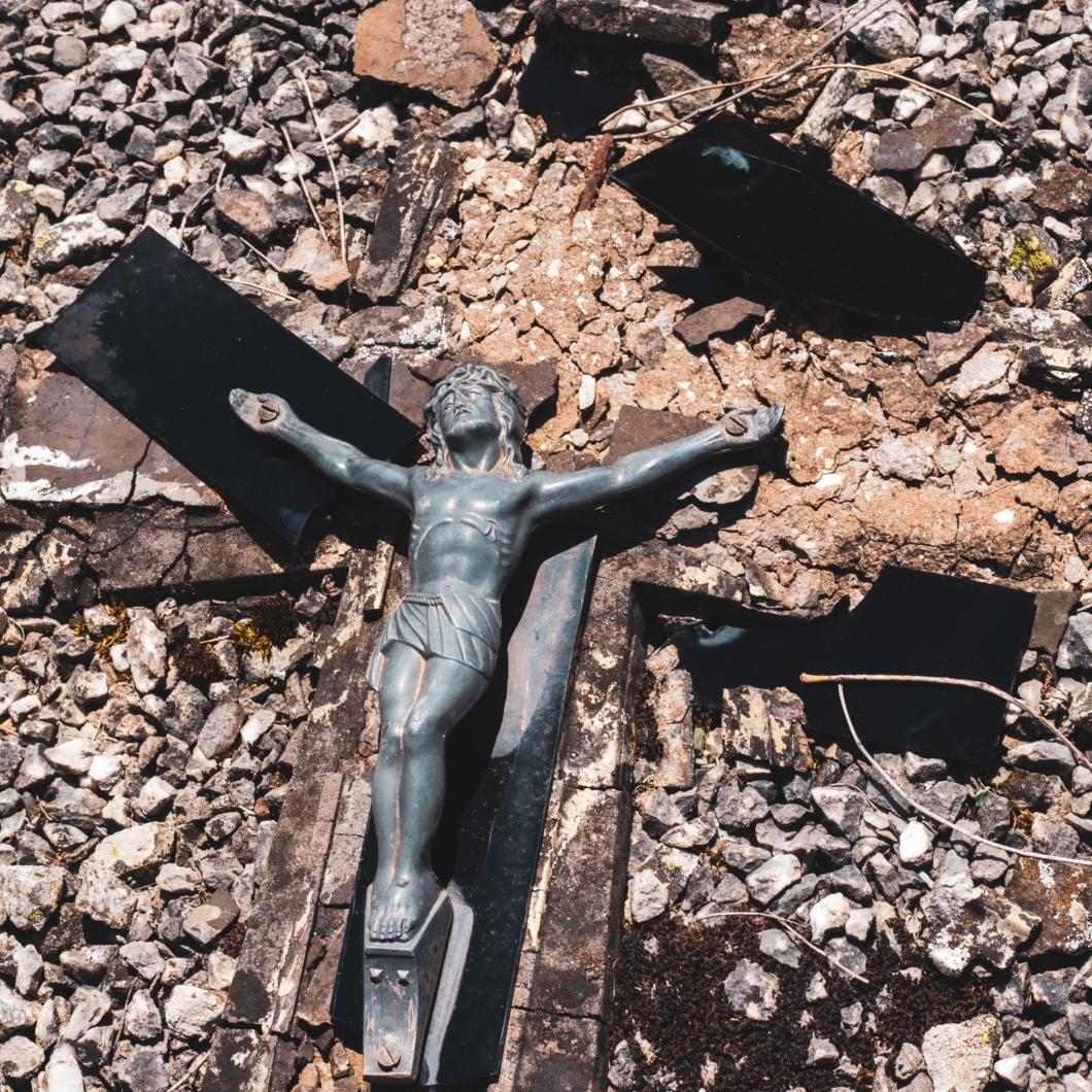 倒れるキリスト