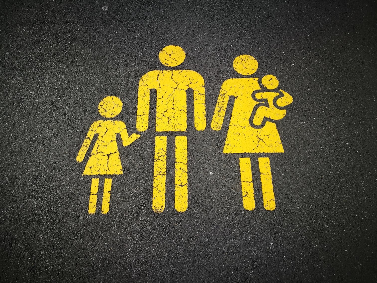 家族のピクトグラム