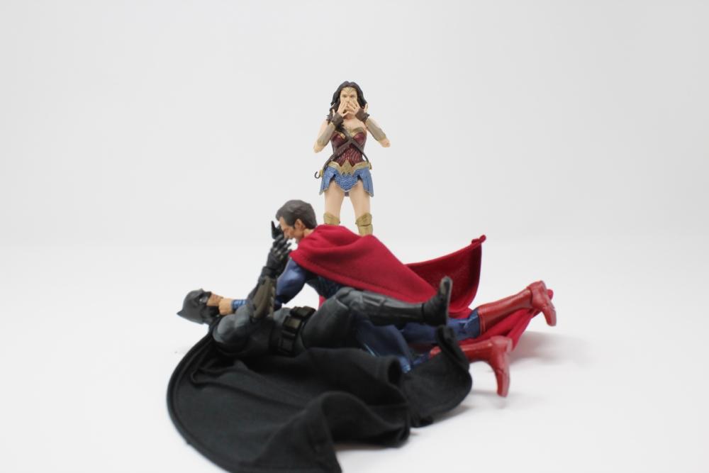 スーパーマンとバットマンとワンダーウーマン
