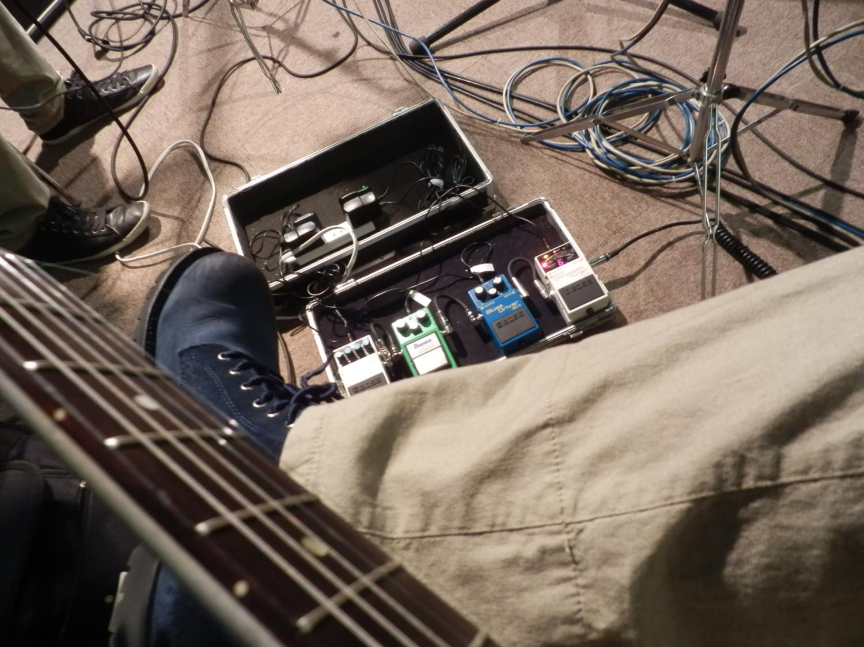 mikioの白いギター(レスポール)