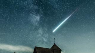 偶然の出会いと流れ星
