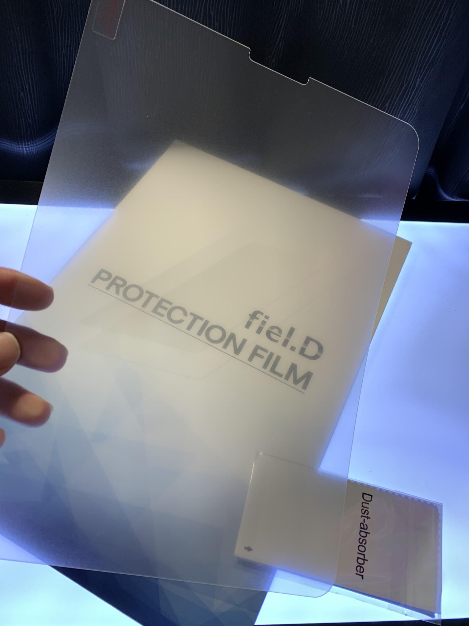 iPad ProペーパーライクフィルムMS factoryの濁り感